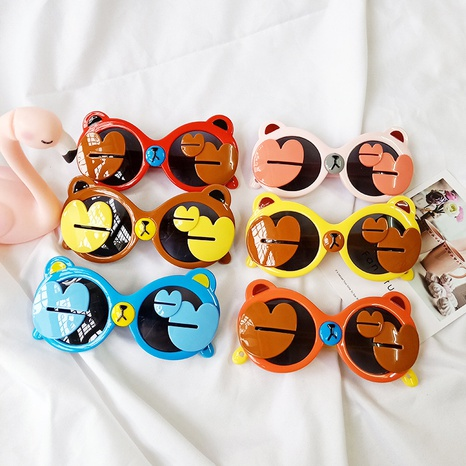 neue Cartoon Bär Sonnenbrille NHBA311614's discount tags
