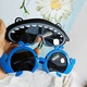Children's cartoon dolphin sunglasses  NHBA311619