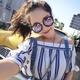New trendy style fashion sunglasses NHBA311625