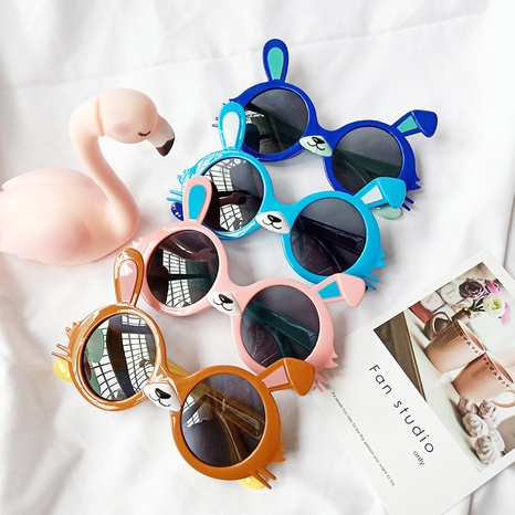 nouvelles lunettes de soleil de dessin animé de lapin NHBA311630's discount tags