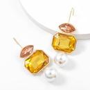 Fashion alloy pearl earrings  NHJE311637