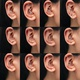new simple inlaid zircon earrings  NHDP311753