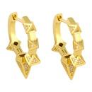 new simple geometric diamond earrings NHAS311775