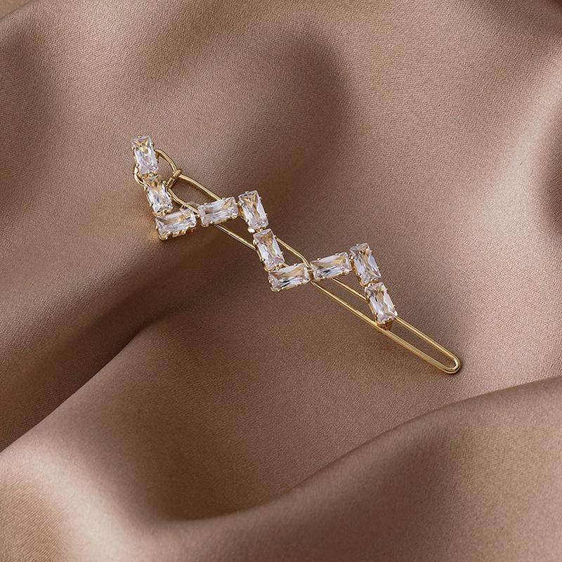 Korean simple zircon clip NHMS311785