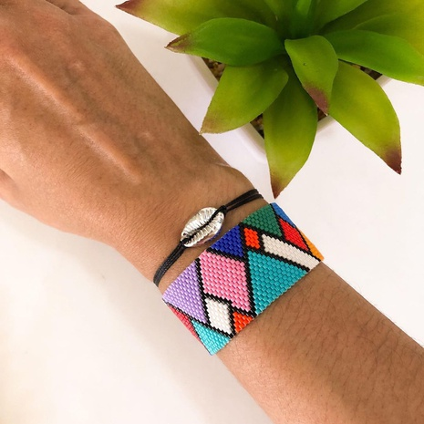 Simple bohemian ethnic style handmade bracelet NHGW311793's discount tags