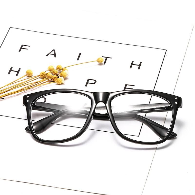 new korean frame retro frame rivet glasses NHBA311611
