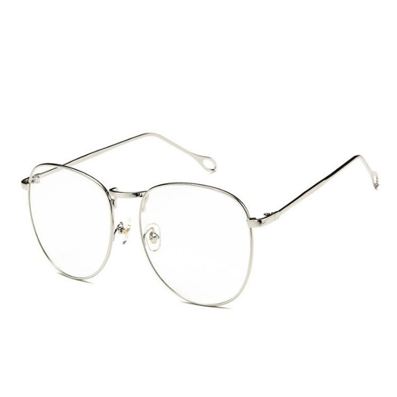 Korean simple Bluray flat glasses NHBA311542