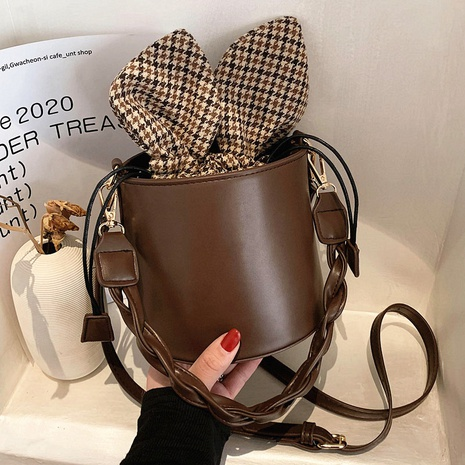fashion cute rabbit ears bucket bag  NHLH311818's discount tags