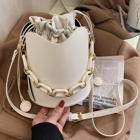 Bolso bombonera con cadena de moda retro NHLH311840's discount tags