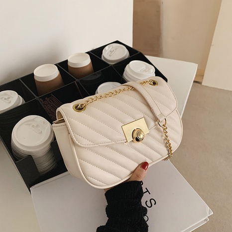 simple chain shoulder bag  NHTG311861's discount tags