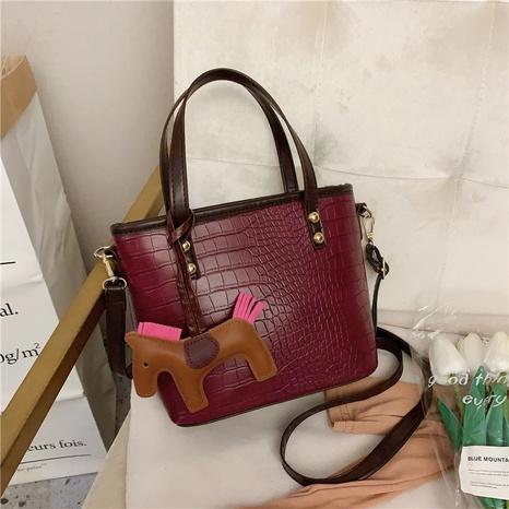 fashion single shoulder messenger big bag NHEX311971's discount tags