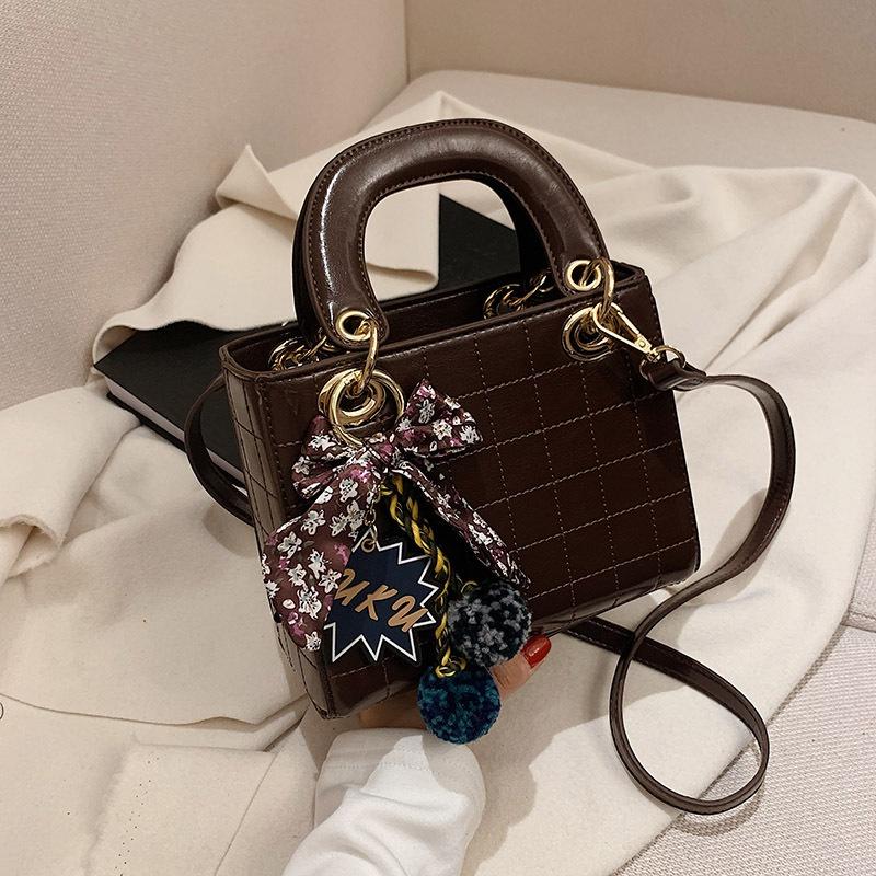 patent leather fashion shoulder messenger bag NHJZ312040