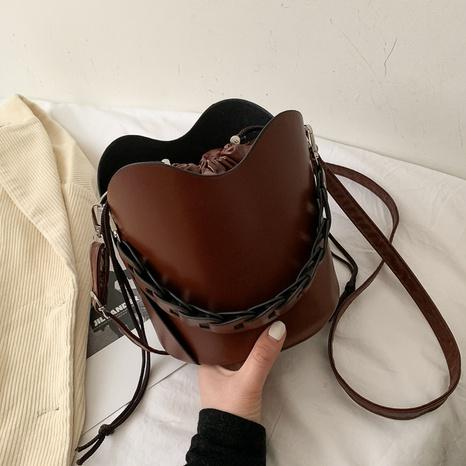 bolso de hombro de moda simple con un solo hombro NHRU312067's discount tags