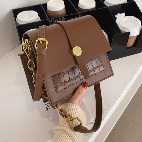 petit sac carré à bandoulière à la mode NHLH312118's discount tags
