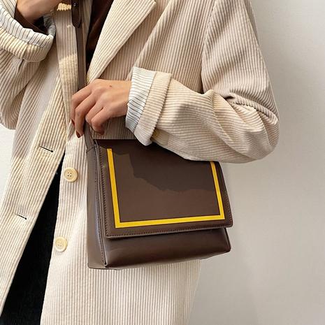Petit sac carré rétro à une épaule NHLH312119's discount tags