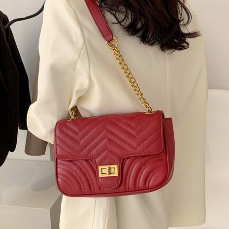 fashion messenger rhombic shoulder bag NHLH312123's discount tags