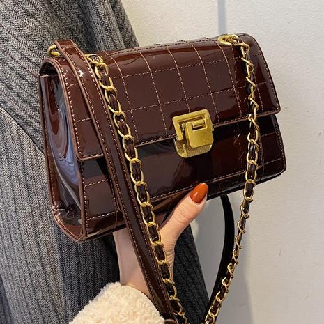 Sac bandoulière mode en cuir verni NHLH312137's discount tags