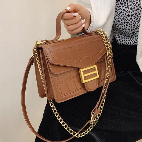 petit sac carré à bandoulière de mode messenger NHLH312143's discount tags