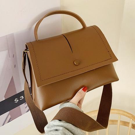 nouveau sac à bandoulière simple à large bandoulière NHLH312147's discount tags