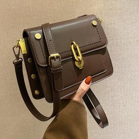 petit sac carré rétro lock messenger NHLH312149's discount tags