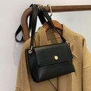Retro fashion wide band shoulder messenger bag  NHLH312155