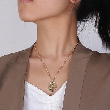 26 Buchstaben Retro einfache Mode Halskette NHLA312183's discount tags