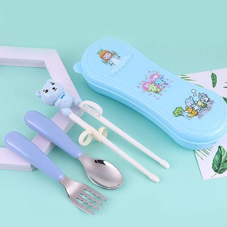 Baby Löffel Gabel Essstäbchen 3-teiliges Set NHNU312249's discount tags