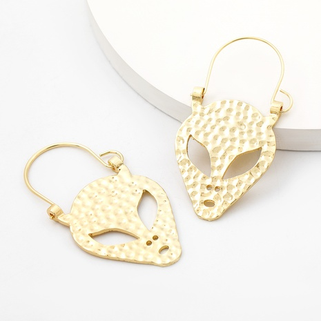 Creative alloy alien shape earrings  NHJE312284's discount tags
