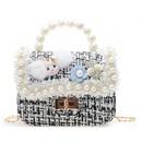 Korean fashion flower messenger shoulder bag NHAV312315