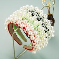 nueva diadema simple de perlas de moda NHLN312331