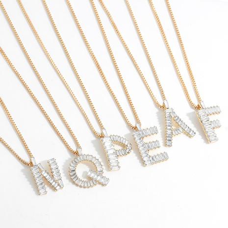 26 englische Buchstaben Anhänger Halskette NHJQ312349's discount tags