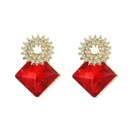 Korean diamonds exquisite earrings NHJQ312357's discount tags