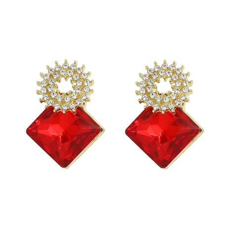Korean diamonds exquisite earrings NHJQ312357's discount tags