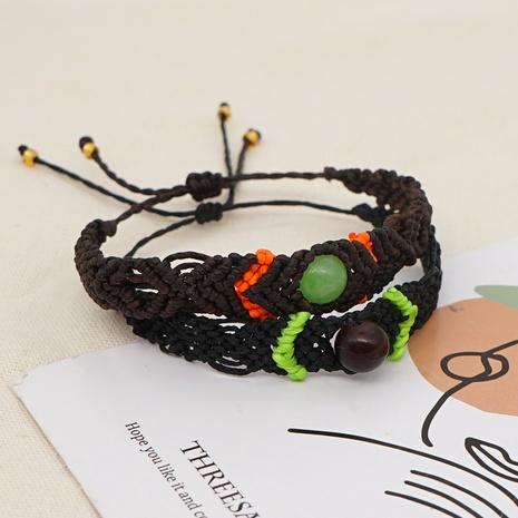 bracelet tressé en pierre naturelle NHGW312417's discount tags
