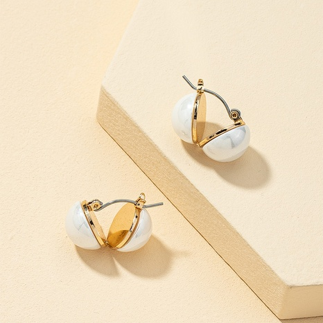Retro Perlen High-End Ohrringe NHQJ312422's discount tags