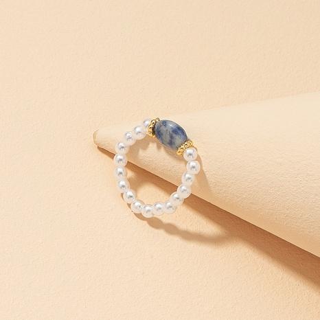 fashion pearl stone ring  NHGU312440's discount tags