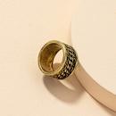 fashion metal texture retro ring wholesale NHGU312457