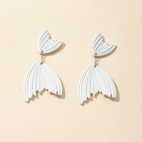 Retro-Ohrringe aus Weißfischlegierung im Großhandel NHGU312469's discount tags