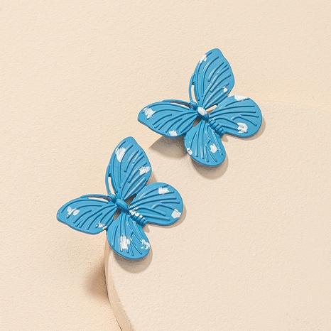 Großhandel Schmetterling Retro Mode Ohrringe NHGU312473's discount tags