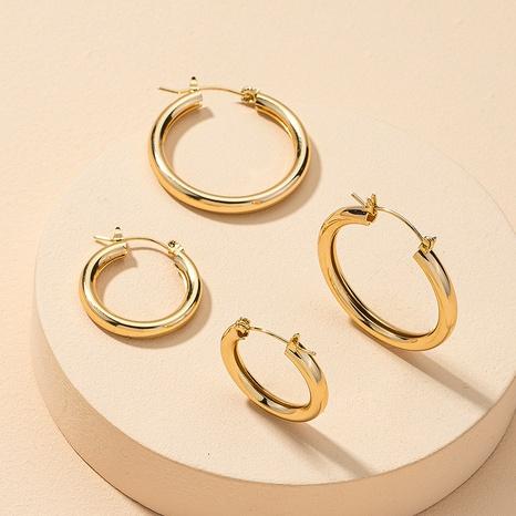 Großhandel Metall Mode Ohrringe NHGU312480's discount tags