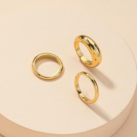 wholesale metal rings 3-piece set  NHGU312490's discount tags