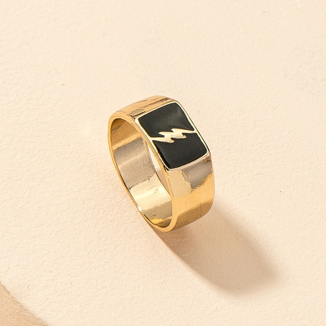 fashion lightning metal ring  NHGU312493's discount tags
