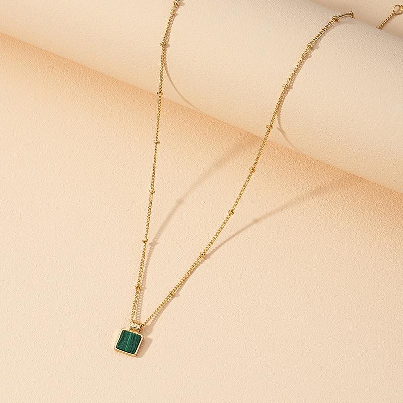 fashion turquoise pendant necklace  NHGU312495