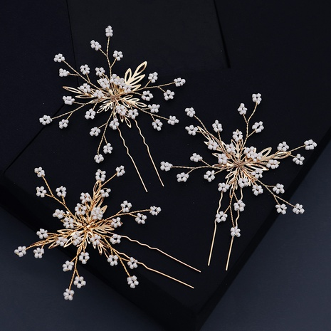 retro golden simple U-shaped hairpin NHHS312552's discount tags