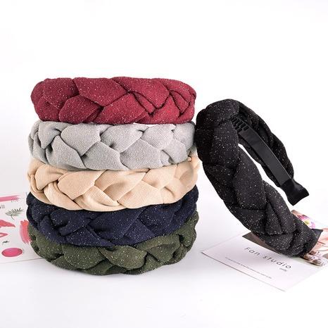 glänzendes geflochtenes exquisites Stirnband NHAQ312579's discount tags