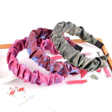 bandeau en soie brillant à la mode NHAQ312580's discount tags