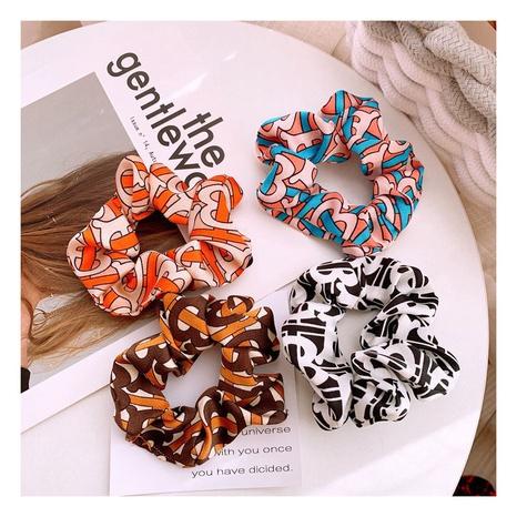 Nuevas gomas para el cabello con estampado de seda y gasa de Corea NHHD312617's discount tags