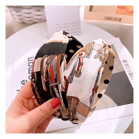 Retro-Stirnband mit breiter Kante drucken NHHD312632's discount tags