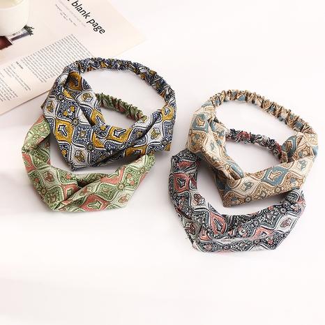 elastisch bedrucktes Haarband NHAU312727's discount tags
