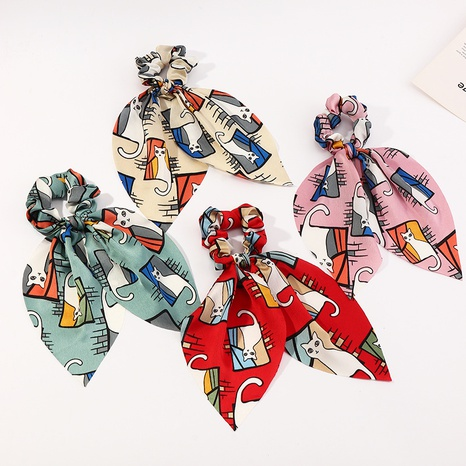 gomas de pelo de dibujos animados de seda de gasa NHAU312728's discount tags